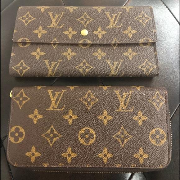 0d3e2b0a6568 Louis Vuitton Handbags - 👀1 DAY Auth LV Sara Zip Around Wallet Bundle Set
